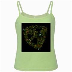 Machine Gear Mechanical Technology Green Spaghetti Tank