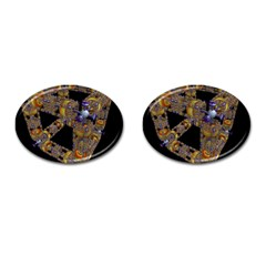 Machine Gear Mechanical Technology Cufflinks (oval)