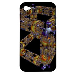 Machine Gear Mechanical Technology Apple Iphone 4/4s Hardshell Case (pc+silicone)