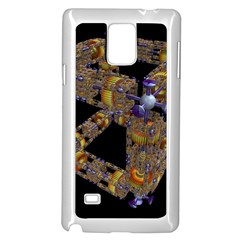 Machine Gear Mechanical Technology Samsung Galaxy Note 4 Case (white)
