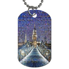London Travel Dog Tag (Two Sides)