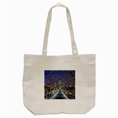 London Travel Tote Bag (Cream)