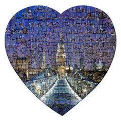 London Travel Jigsaw Puzzle (Heart)