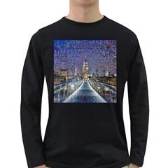 London Travel Long Sleeve Dark T Shirts