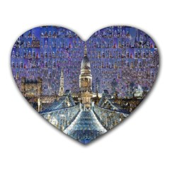 London Travel Heart Mousepads