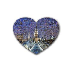 London Travel Heart Coaster (4 Pack)