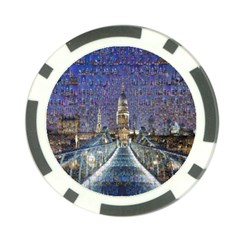 London Travel Poker Chip Card Guard