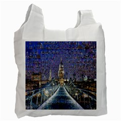 London Travel Recycle Bag (Two Side)
