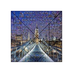 London Travel Acrylic Tangram Puzzle (4  x 4 )