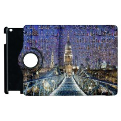 London Travel Apple Ipad 3/4 Flip 360 Case