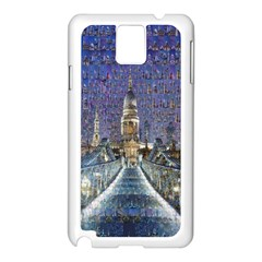 London Travel Samsung Galaxy Note 3 N9005 Case (white)