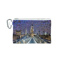 London Travel Canvas Cosmetic Bag (s)