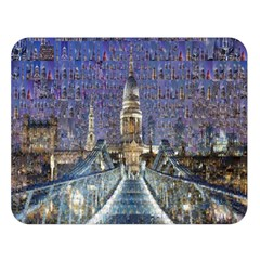 London Travel Double Sided Flano Blanket (Large)