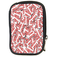 Merry Christmas Xmas Pattern Compact Camera Cases
