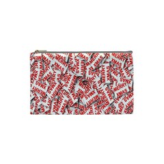 Merry Christmas Xmas Pattern Cosmetic Bag (Small)