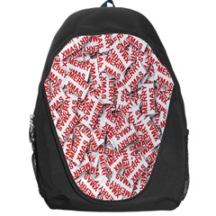 Merry Christmas Xmas Pattern Backpack Bag