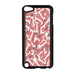 Merry Christmas Xmas Pattern Apple Ipod Touch 5 Case (black)