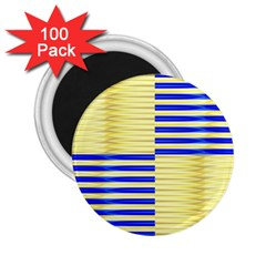 Metallic Gold Texture 2.25  Magnets (100 pack)