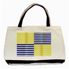 Metallic Gold Texture Basic Tote Bag