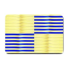 Metallic Gold Texture Small Doormat