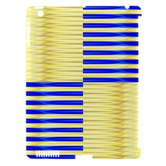 Metallic Gold Texture Apple Ipad 3/4 Hardshell Case (compatible With Smart Cover)