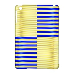 Metallic Gold Texture Apple Ipad Mini Hardshell Case (compatible With Smart Cover)
