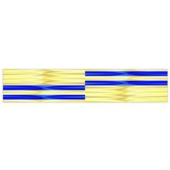 Metallic Gold Texture Flano Scarf (Small)
