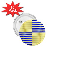 Metallic Gold Texture 1.75  Buttons (10 pack)