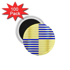 Metallic Gold Texture 1.75  Magnets (100 pack)