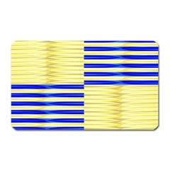 Metallic Gold Texture Magnet (rectangular)