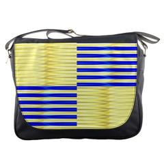 Metallic Gold Texture Messenger Bags