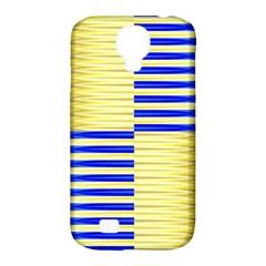 Metallic Gold Texture Samsung Galaxy S4 Classic Hardshell Case (PC+Silicone)