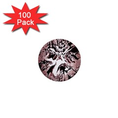 Metal Lighted Background Light 1  Mini Magnets (100 pack)