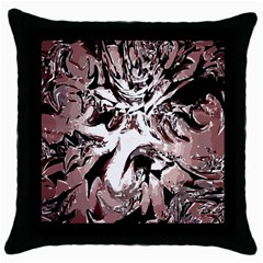 Metal Lighted Background Light Throw Pillow Case (Black)
