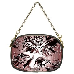 Metal Lighted Background Light Chain Purses (two Sides)