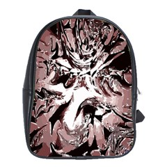 Metal Lighted Background Light School Bags(large)