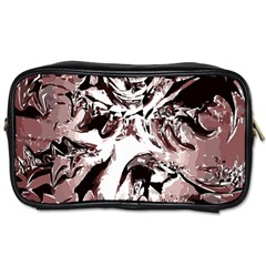 Metal Lighted Background Light Toiletries Bags