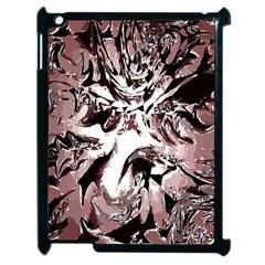 Metal Lighted Background Light Apple iPad 2 Case (Black)