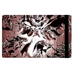 Metal Lighted Background Light Apple Ipad 3/4 Flip Case