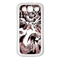 Metal Lighted Background Light Samsung Galaxy S3 Back Case (white)