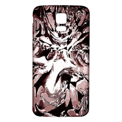 Metal Lighted Background Light Samsung Galaxy S5 Back Case (white)