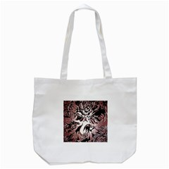 Metal Lighted Background Light Tote Bag (white)
