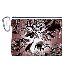 Metal Lighted Background Light Canvas Cosmetic Bag (l)