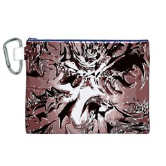 Metal Lighted Background Light Canvas Cosmetic Bag (XL)