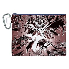 Metal Lighted Background Light Canvas Cosmetic Bag (xxl)