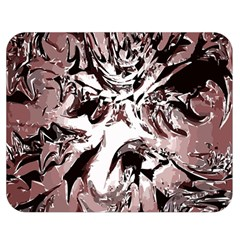 Metal Lighted Background Light Double Sided Flano Blanket (Medium)