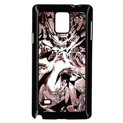 Metal Lighted Background Light Samsung Galaxy Note 4 Case (black)