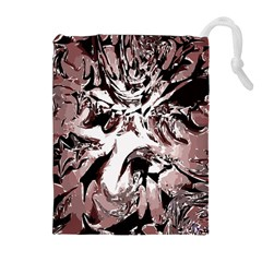 Metal Lighted Background Light Drawstring Pouches (Extra Large)