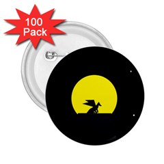 Moon And Dragon Dragon Sky Dragon 2 25  Buttons (100 Pack)