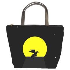 Moon And Dragon Dragon Sky Dragon Bucket Bags